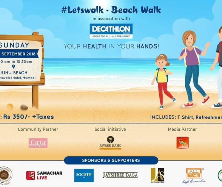 LetsWalk- Beach Walk