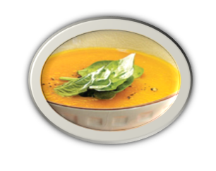 Carrot-Spinach Soup