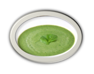 palak shorbha soup